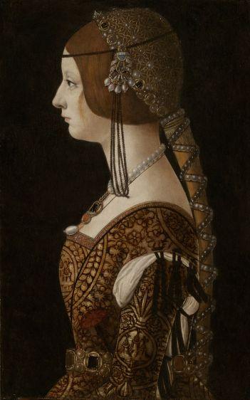 Bianca Maria Sforza 1493
